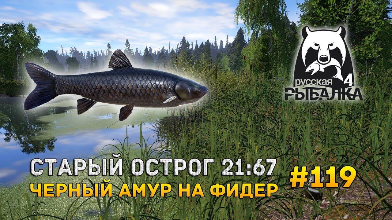 русская рыбалка 4 старый острог