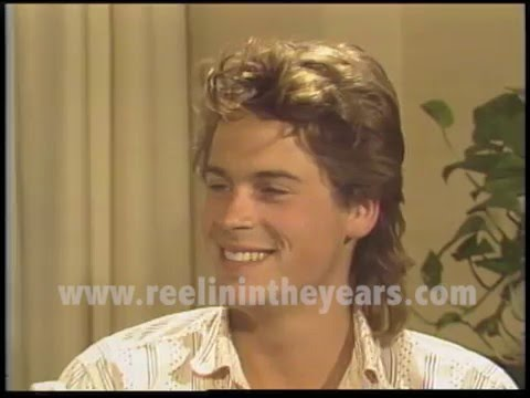 Rob Lowe Interview 1985 Brian Linehans City Lights Youtube