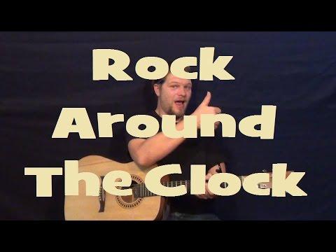 Rock Around The Clock Bill Haley Easy Strum Guitar Lesson Chord
