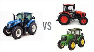 New Holland T4 Utility Tractors vs Kubota and John Deere