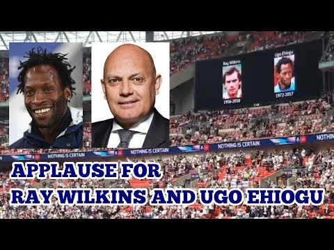 APPLAUSE FOR RAY WILKINS AND UGO EHIOGU - Manchester United v Tottenham - 21 April 2018