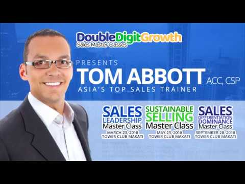 Asias Top Sales Leader Tom Abbott In The Philippines 2018