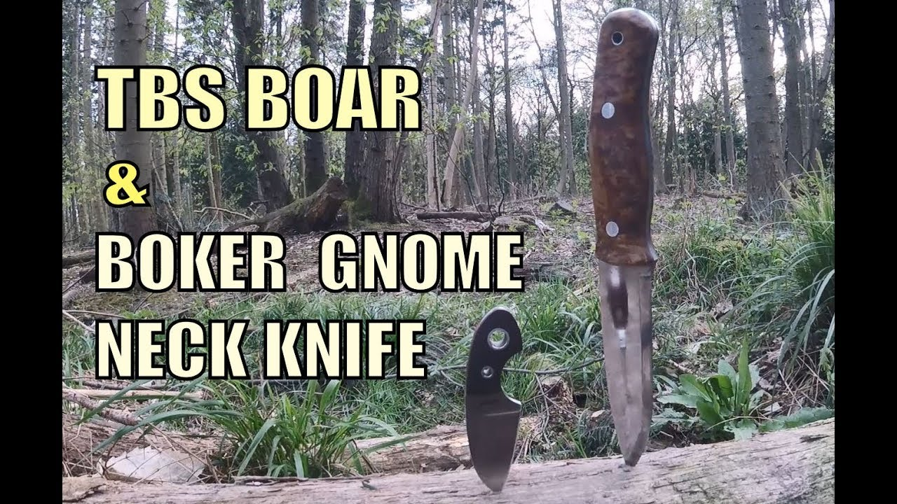 TBS Boar & Boker Gnome Bushcraft Knife