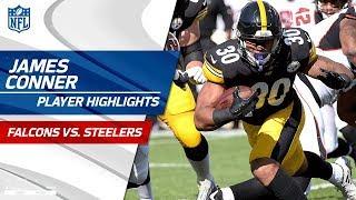 Every James Conner Play Against Atlanta | Falcons vs. Steelers | Preseason Wk 2 Player Highlights