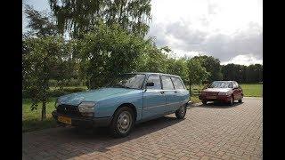 Citroën GSA Special Break 1983 first drive after repairs