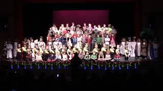 2018 K-4 Haines Schools Christmas Concert - Mass Choir - We Wish You A Merry Christmas