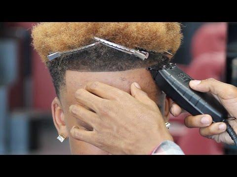 Haircut Odell Beckham Taper Fade Hd Youtube