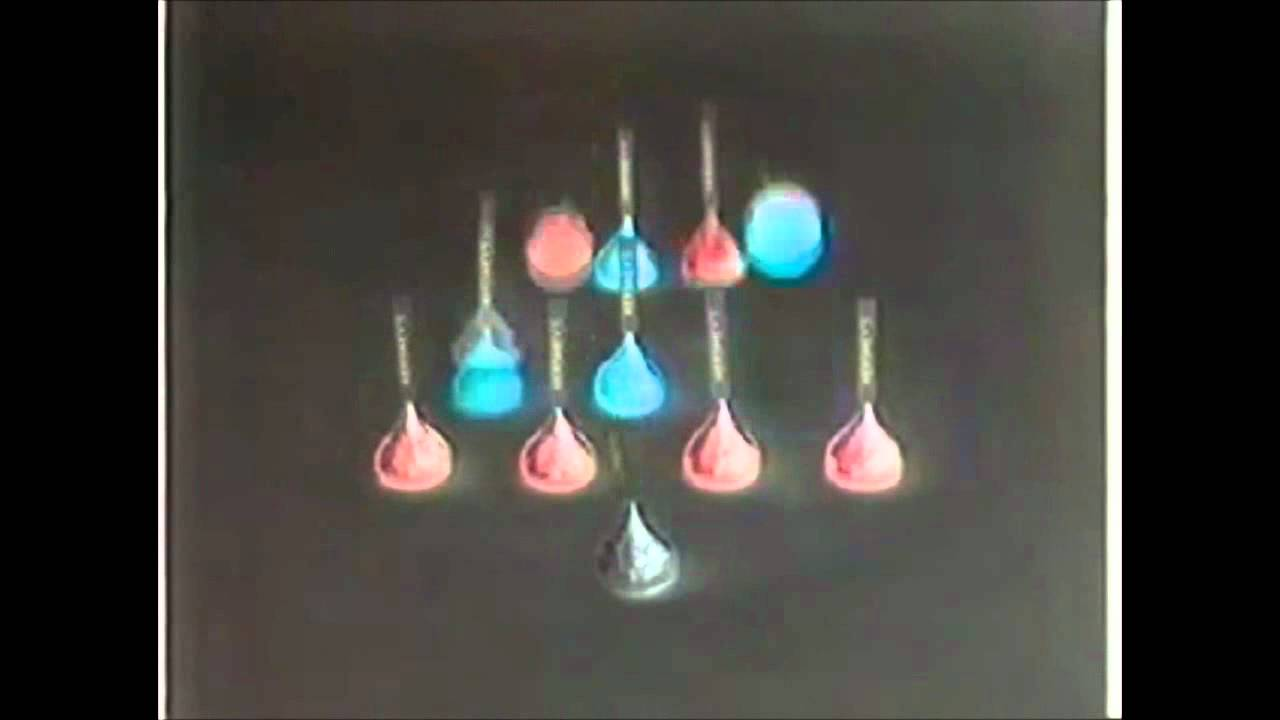 Hershey's Kisses Christmas Commercial in G Major - YouTube