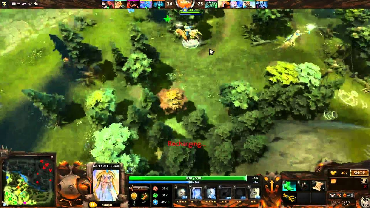 Dota 2 Lag and Screen Freeze! WTF!!!!