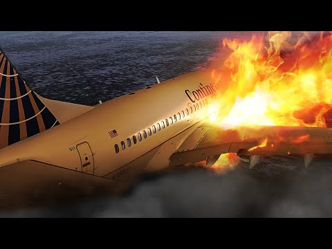 Crashing a Boeing 737 Just Before Takeoff in Denver | Continental Flight 1404