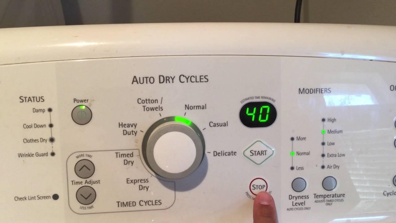 Kenmore Elite Oasis Electric Dryer Error Code F1 Part 2