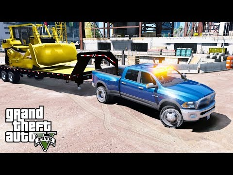 GTA 5 REAL LIFE MOD - ANOTHER DAY AT WORK #38 Delivering A B
