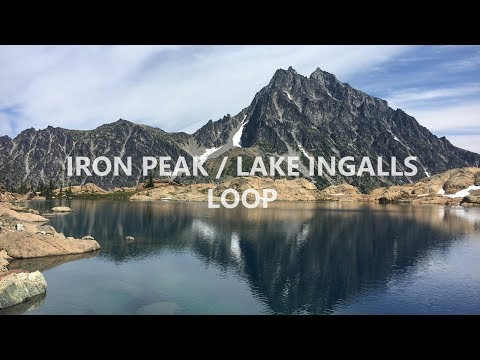 Lake Ingalls, Mt. Stuart and Goats!
