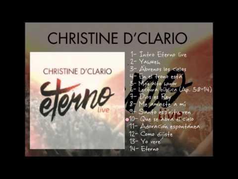 Christine D'Clario-  Eterno Live 2015 (Album Completo)