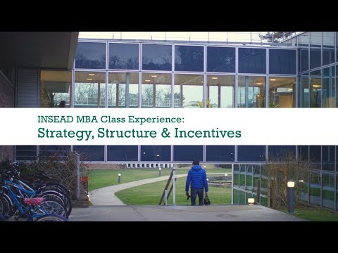 Strategy, Structure & Incentives with Prof. Maria Guadalupe | INSEAD MBA Class Experience