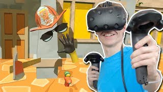FIREFIGHTER SIMULATOR IN VIRTUAL REALITY! | Paperville Panic VR (HTC Vive Gameplay)