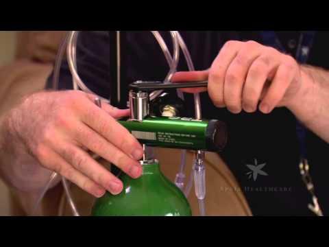 Ch 5: Liquid Oxygen Portable Cylinders Setup & Application