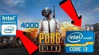 PUBG PC LITE ON I3,4GB,INTEL HD4000|MINIMUM REQUIREMENTS TESTING GAMEPLAY