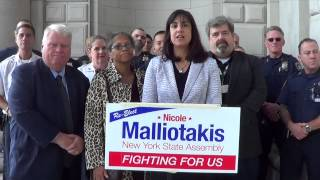 New York Court Officers and Clerks Endorse Assemblywoman Nicole Malliotakis