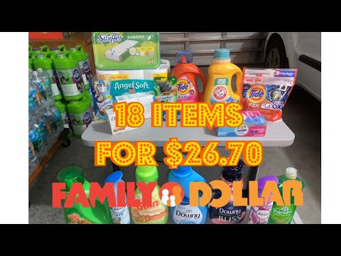 Over $50 in savings @ Family Dollar! ALL DIGITAL COUPONS! [Newbie Friendly]