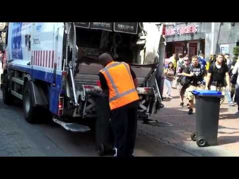 Garbage Trucks of Europe: Amsterdam, Brussels, and Paris