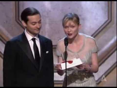 """Little Miss Sunshine"" winning Original Screenplay"