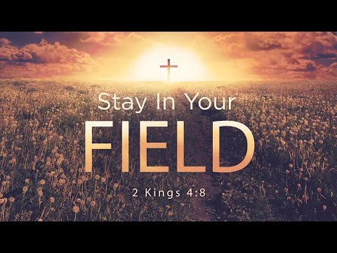 Stay In Your Field - Pastor Tracy Stone (May 14, 2017)