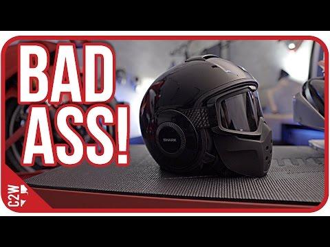 This helmet looks BAD ASS! [Shark Raw Helmet Review]
