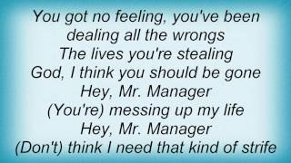 Badfinger - Hey Mr Manager Lyrics YouTube Videos