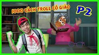 1000 Cách ThắnG Tê Tê Troll Cô Giáo Phần 2 | Scary Teacher Troll Game