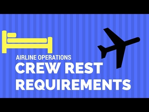 Flight and Duty Time - Rest Period and 8 Hours Sleep Opportunity