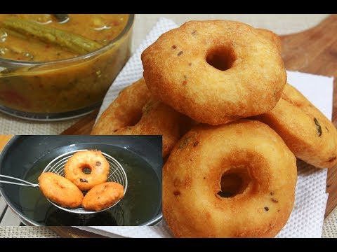 Trick to make perfect medu vada || hotel style crispy medu vada