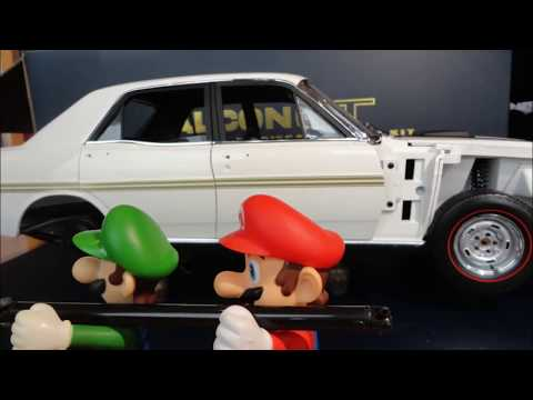 1/8 Scale Ford Falcon XY GT Model Stop Motion Animation Build