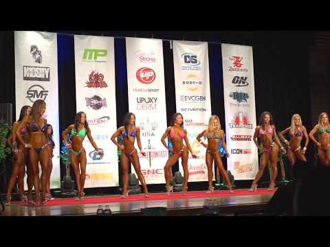 My frist bikini competion Muscle Contest 2017