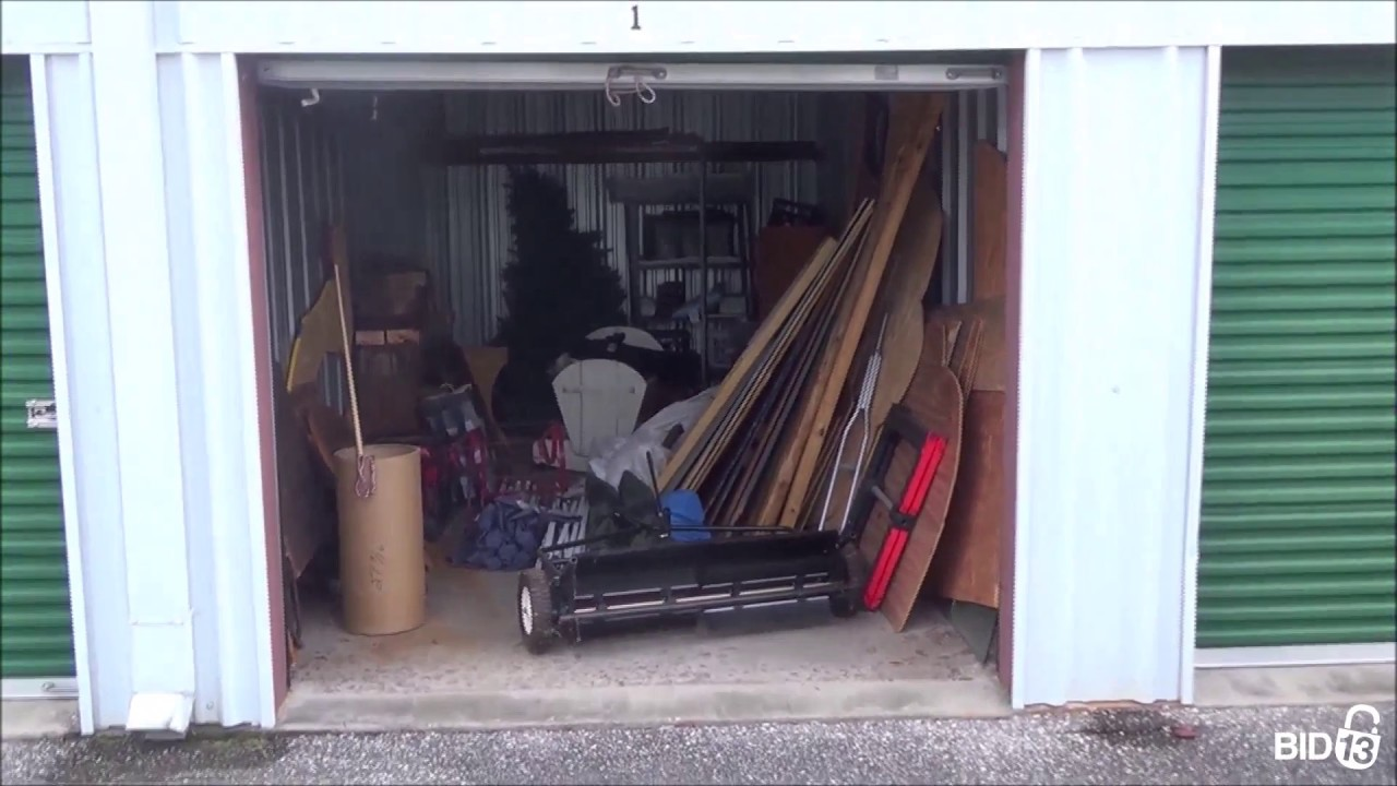 woodbine storage unit 121 youtube