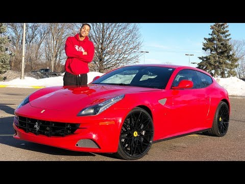FERRARI FF REVIEW! THIS THING IS ABSOLUTELY RIDICULOUS..