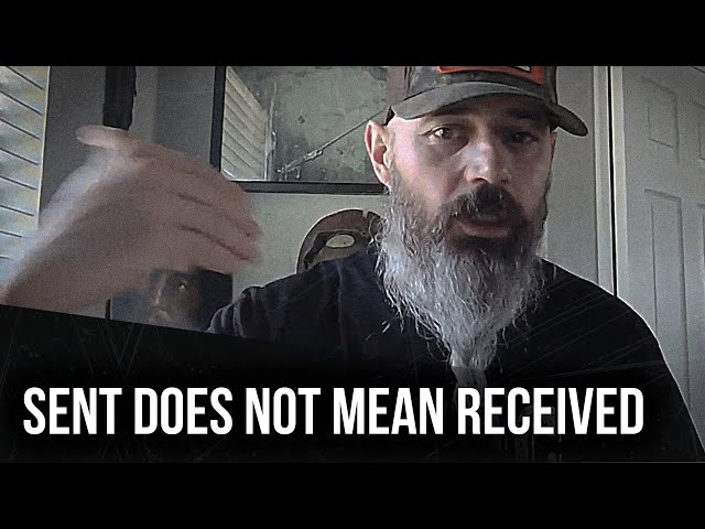 Sent does not mean received