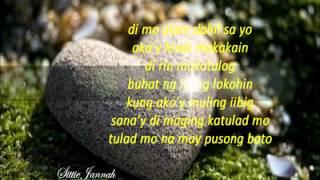 PUSONG BATO Lyrics Charice Pempengco