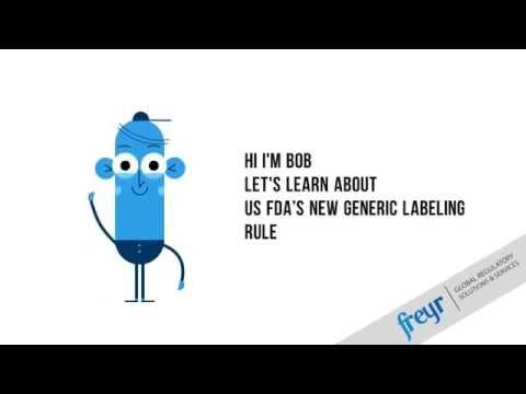 US FDA's  Generic Labeling Rule
