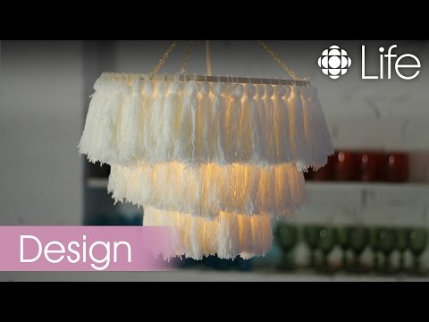How to Make a Tassel Chandelier | CBC Life