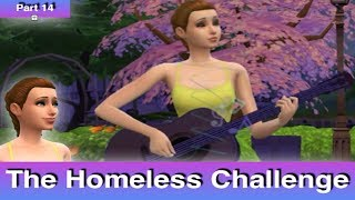 The Sims 4: Homeless Challenge // Over Worked (Part 14)