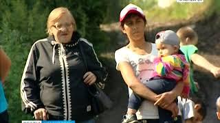 Строительство развязки на Волочаевской отрезало жителей нескольких домов от города
