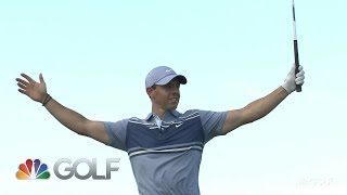Highlights: Rory seals the deal in extra-hole skins thriller | Golf Channel