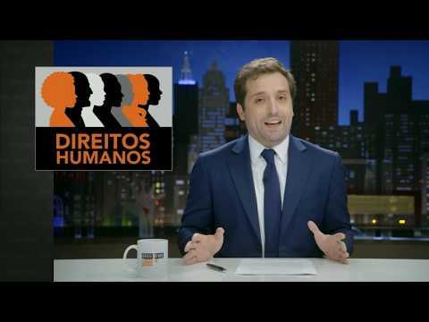 GREG NEWS com Gregório Duvivier   A VERDADE SOBRE DIREITOS HUMANOS