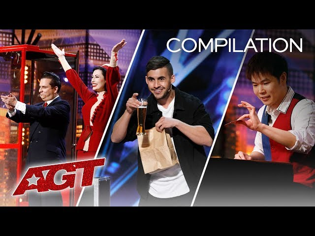 TOP Magic Tricks From AGT Season 14 Auditions (Are They Actual Wizards?) - America's Got Talent 2019