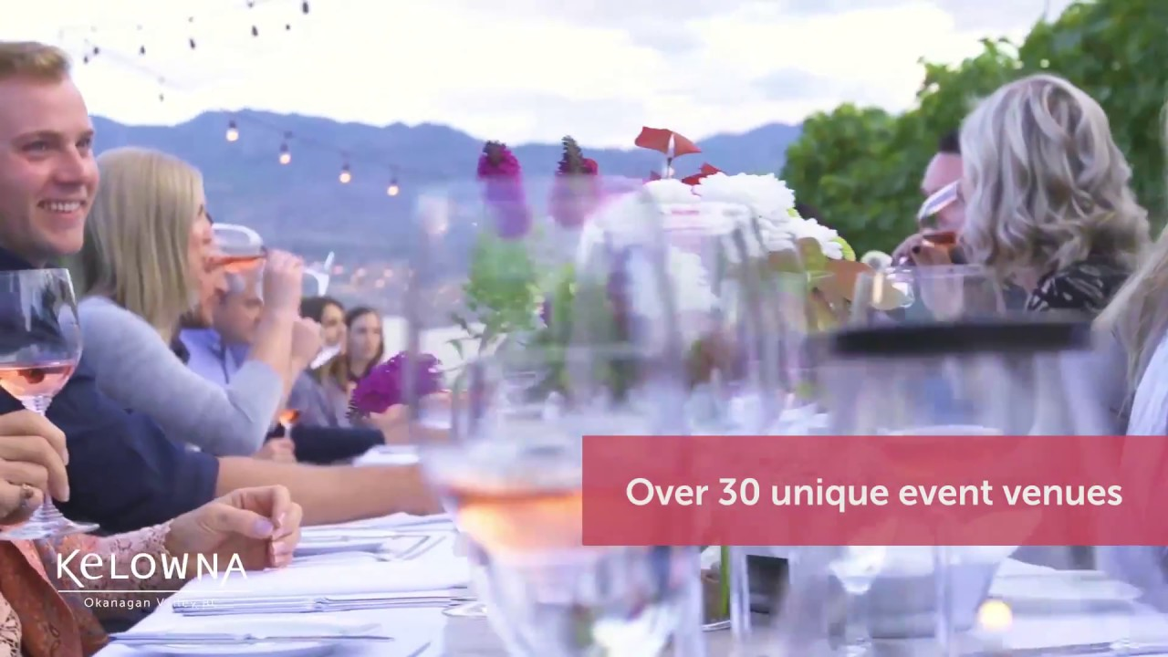 Explore Kelowna, BC for Corporate Meetings and Event Planning