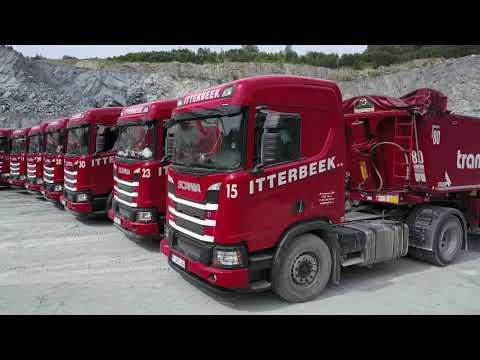 TRANSPORT.TV 39: Itterbeek toont spectaculaire Scania vloot in steengroeve