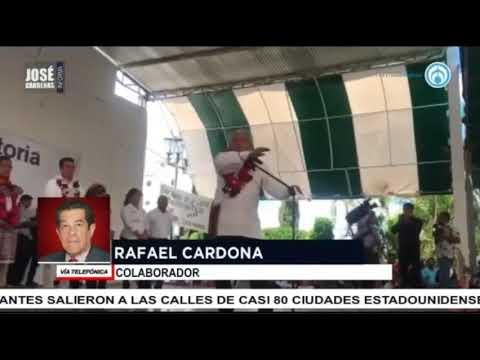 El cristalazo de Rafael Cardona, con José Cárdenas Informa