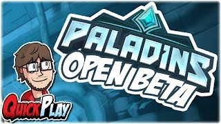 QuickPlay: Paladins (Beta)   First Impressions / Review / Gameplay   Retromation