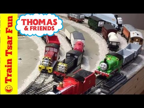 Thomas the Tank Engine & Friends Bachmann Steamies & Diesels HO SCALE Locomotives & Train Cars